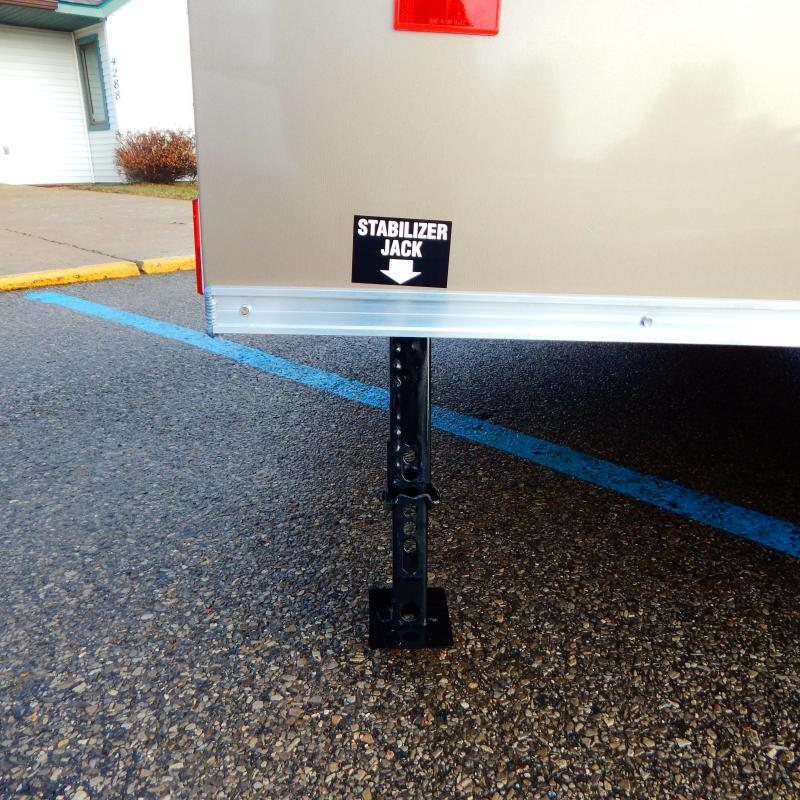 2020 Haul-About 5x12 3k Cougar Enclosed Cargo Trailer