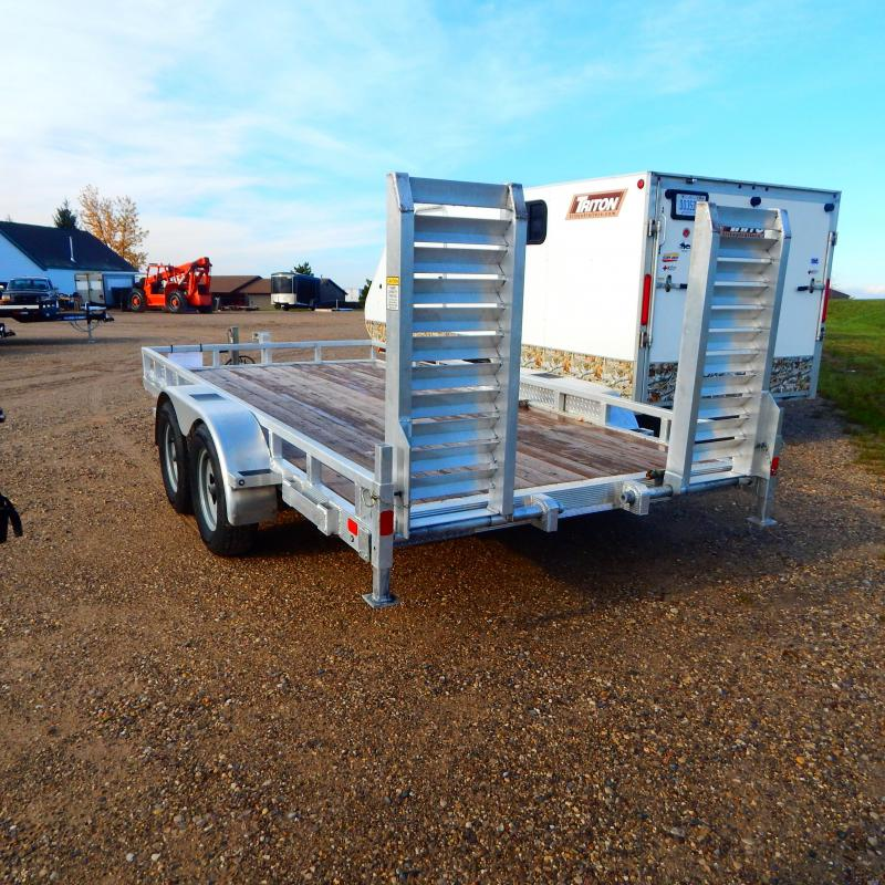 2019 Sport Haven 7X14 HD TANDEM Equipment Trailer