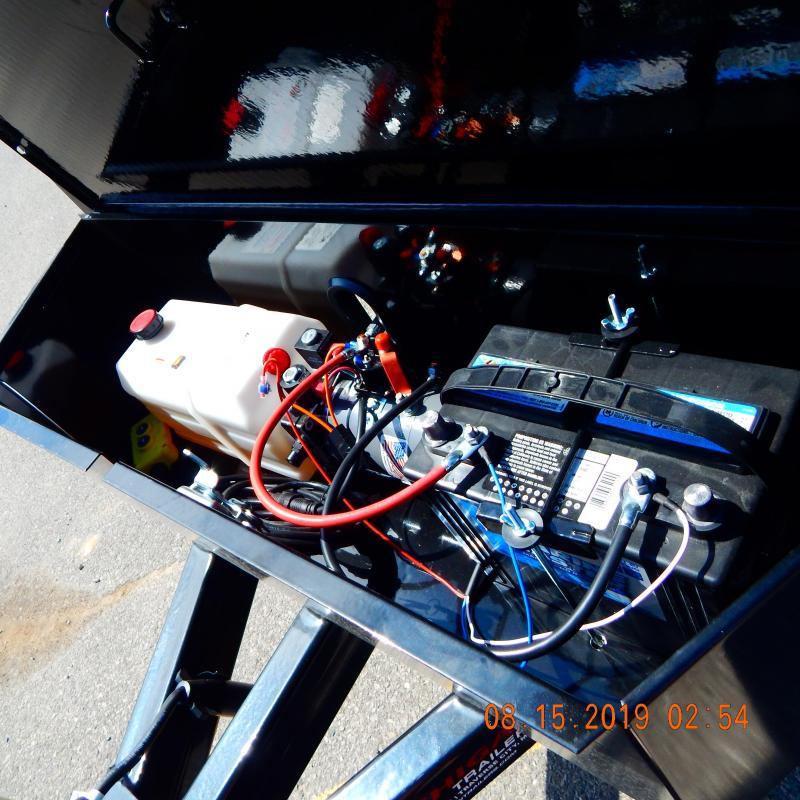 2020 Sure-Trac 72 IN X 10 Deckover Dump 7K Single Ram