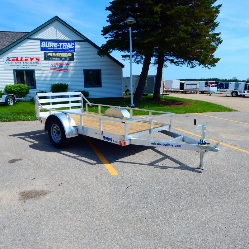 2020 Mission 5x10 3k Tube Top Utility Trailer
