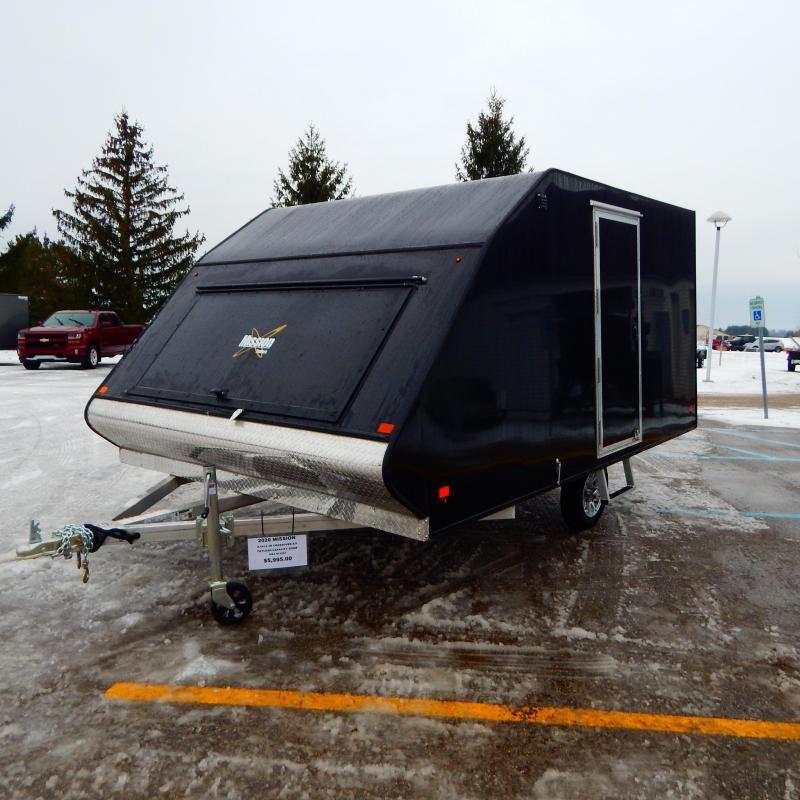 2020 Mission 8.5x12 3k Hard Top Snowmobile Trailer