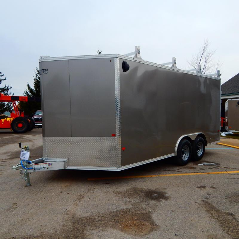 2020 EZ Hauler 8Xx16 10k Ultimate Contractor Enclosed Cargo Trailer