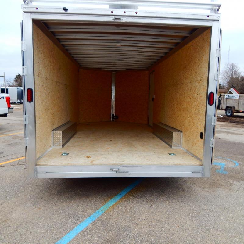 2020 EZ Hauler 8Xx16 10k Ultimate Contractor Enclosed Cargo Trailer