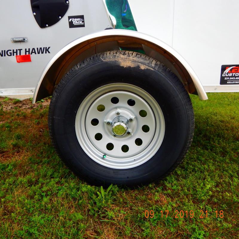 2019 American Hauler Industries 4x6 Night Hawk 2k Enclosed Cargo Trailer