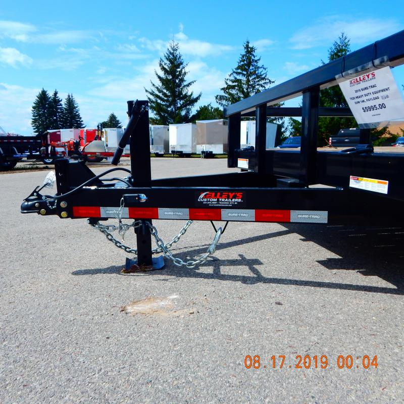 2020 Sure-Trac 7x20 Heavy Duty 14k Equipment Trailer