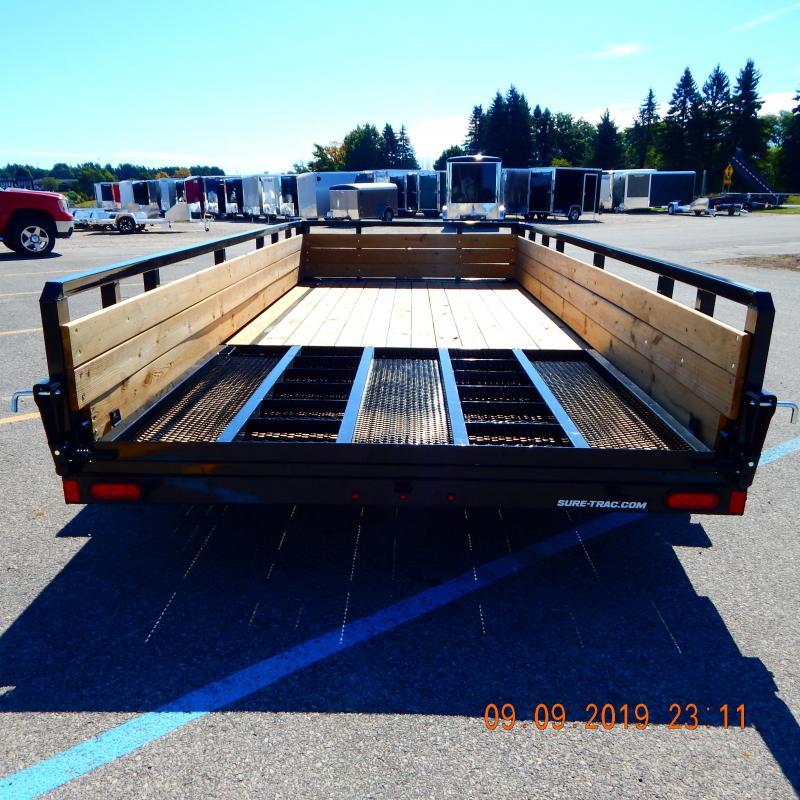 2020 Sure-Trac 7 X 14 Tube Top Three Board  7K Tandem