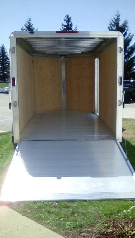 2020 Aluma 7x14 7k Enclosed Cargo Trailer