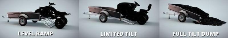 2020 Floe Cargo Max 6x11 3.5k Steel Wheels Utility Trailer