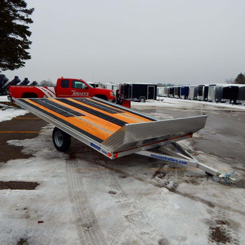 2020 Mission 8.5x12 3k Snowmobile Trailer