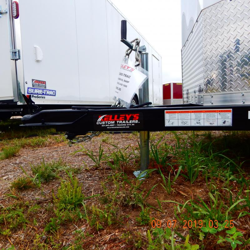 2019 Sure-Trac 6x12 Pro-Series Wedge 3k Enclosed Cargo Trailer