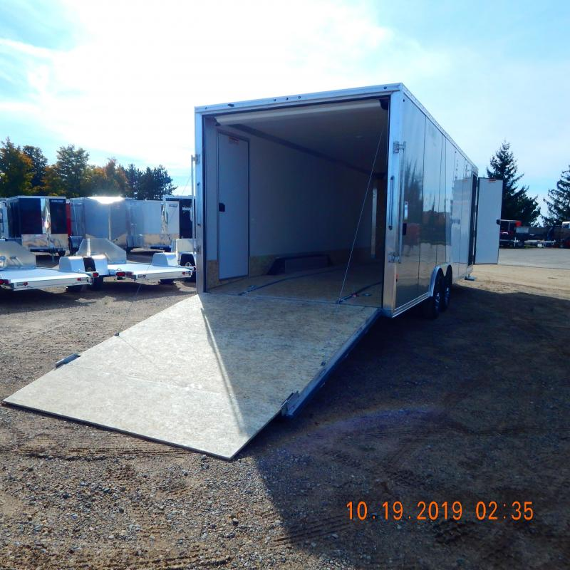 2019 Mission 8.5X24 10K DRIVE ON/OFF Snowmobile Trailer