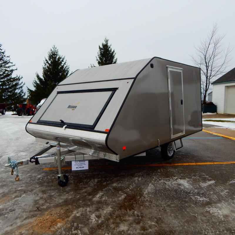 2020 Mission 8.5x12 3k Hard top Snowmobile Trailer