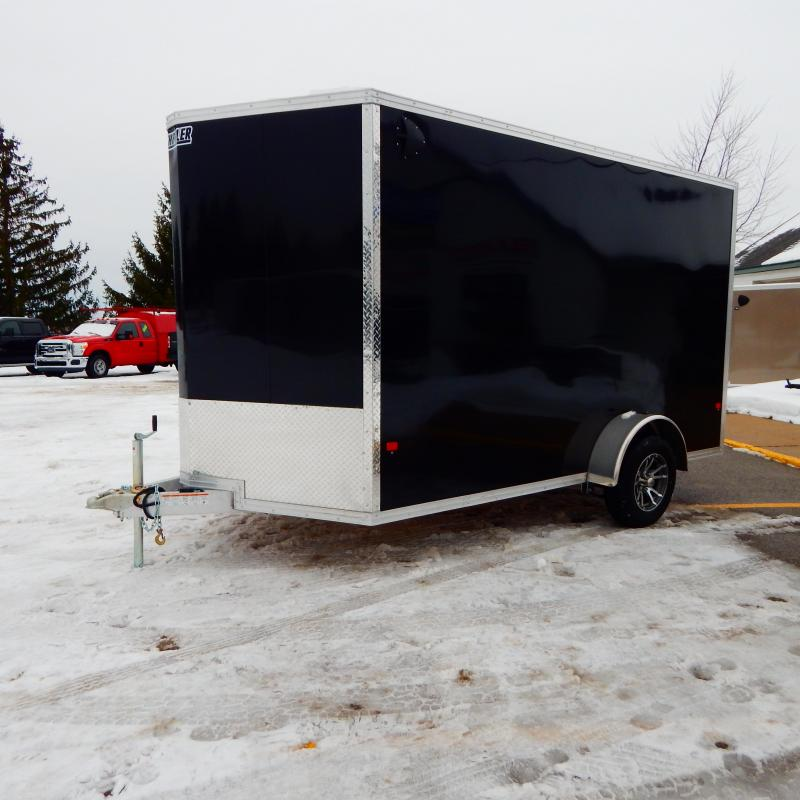 2020 E-Z Hauler 7x12 3.5k Enclosed Cargo Trailer