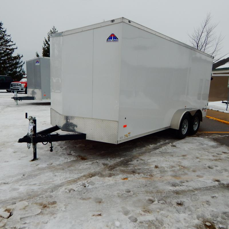 2020 Haul-About 7x16 7k Courgar Enclosed Cargo Trailer