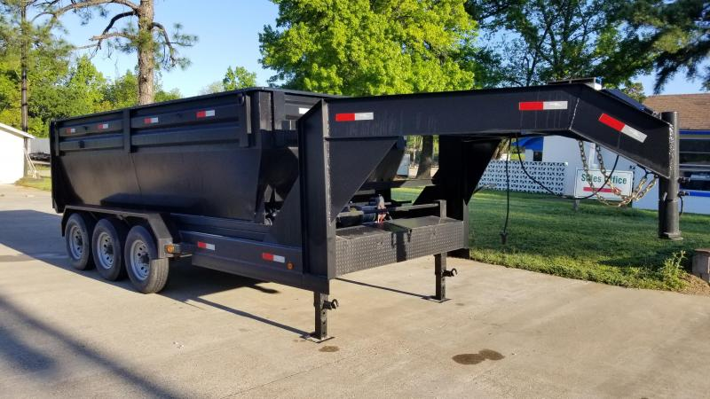 Salvation Trailers 83X16 Dump Trailer