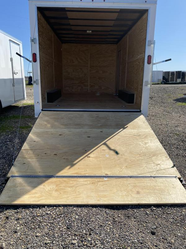 2020 Salvation Trailers 8.5X18TA-WHITE Enclosed Cargo Trailer