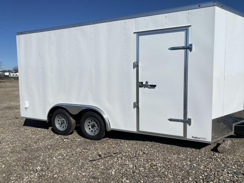 2020 Salvation Trailers 8.5x16 Enclosed Cargo Trailer