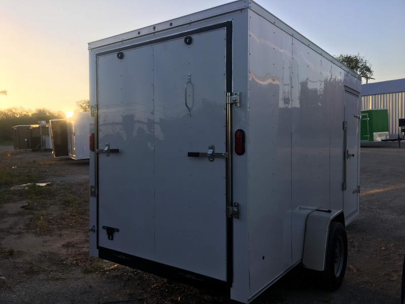 2019 6X12SA Enclosed Cargo Trailer