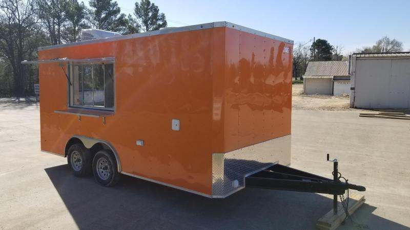 2021 Salvation Trailers 8.5X16 Vending / Concession Trailer