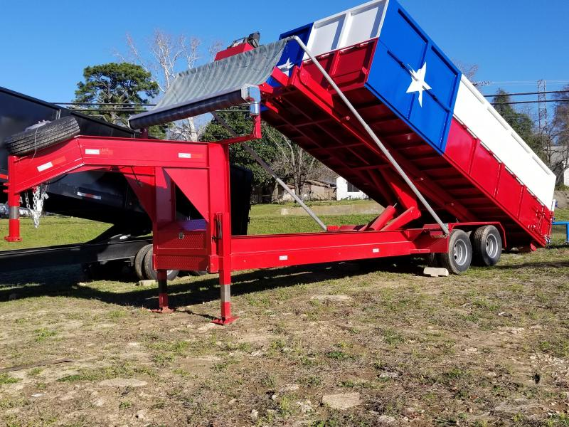 2019 Salvation Trailers TEXAS HAULER Dump Trailer