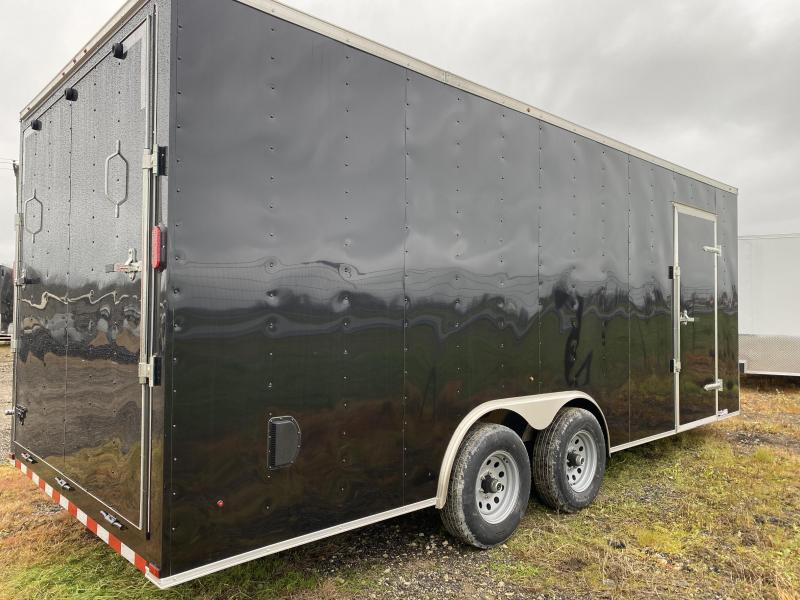 2020 Salvation Trailers 8.5X20TA-BLACK Enclosed Cargo Trailer
