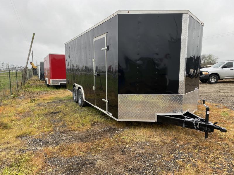 2020 Salvation Trailers 8.5X20TA-BLACK Enclosed Cargo Trailer