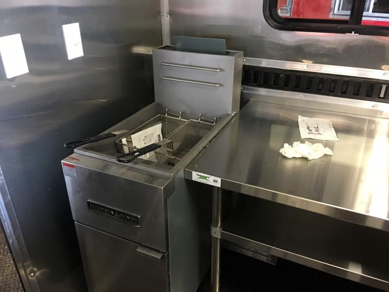 2019 8.5X18TA BBQ Smoker Vending / Concession Trailer
