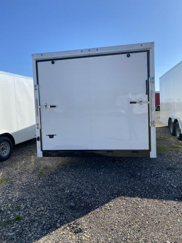 2020 Salvation Trailers 8.5X20TA-WHITE Enclosed Cargo Trailer