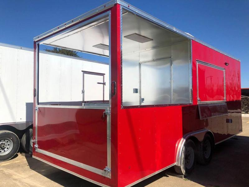 2020 BBQ porch trailer Vending / Concession Trailer