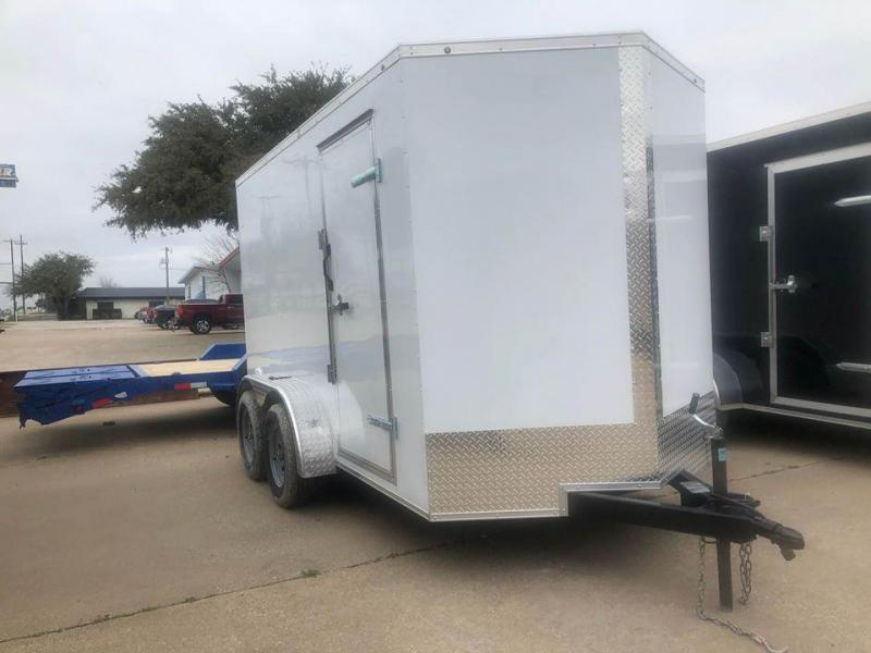 2020 SALVATION 7X12 ENCLOSED Enclosed Cargo Trailer
