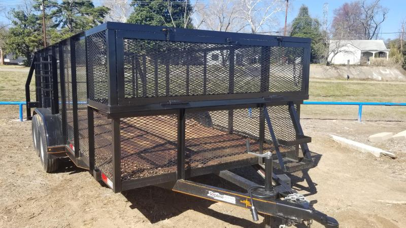 2018 Salvation Trailers 83X16 Landscape Trailer