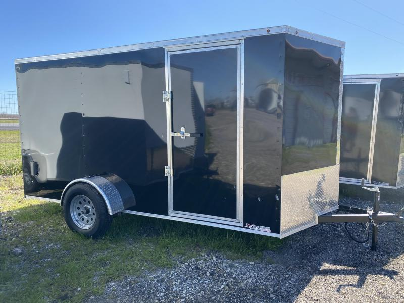 2020 Salvation Trailers 6X12SA-BLACK Enclosed Cargo Trailer