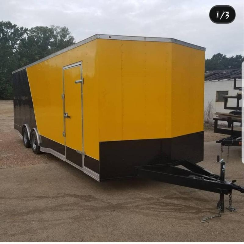 2019 Salvation Trailers 8.5X24 Enclosed Cargo Trailer