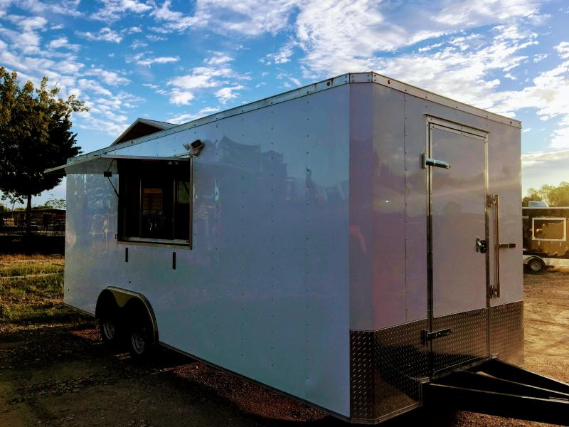 8.5X20 Vending / Concession Trailer