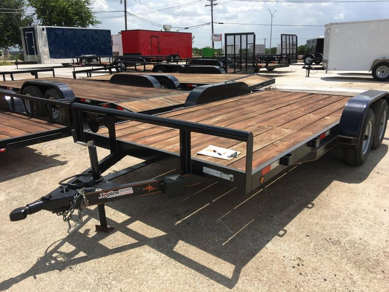 2018 83X16TA Car / Racing Trailer