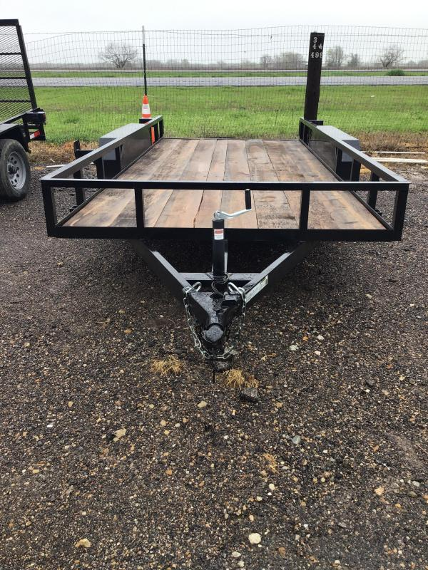 2020 Salvation Trailers 16X78TA Utility Trailer