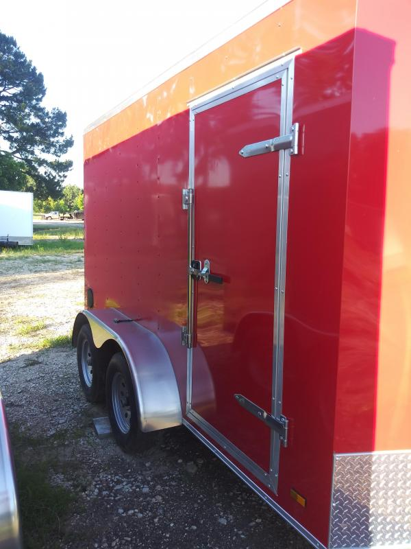 2019 7X12 ENCLOSED CARGO TRAILER