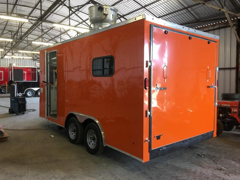 2019 8.5X16TA Food Concession Vending / Concession Trailer