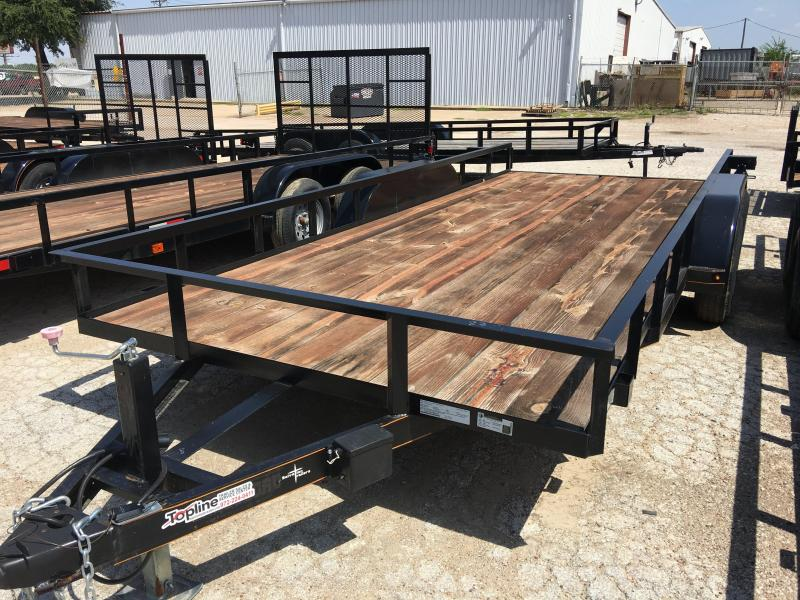 2020 83X18TA Utility Trailer heavy duty axles
