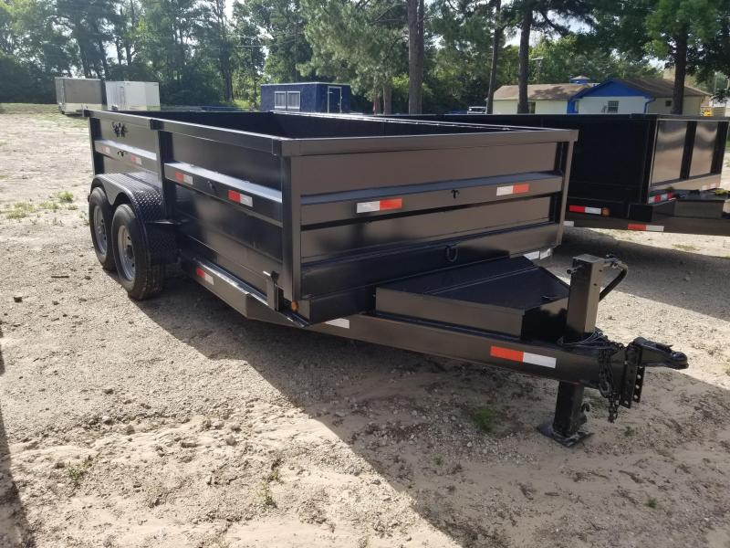 2019 Salvation Trailers 7X14 Dump Trailer