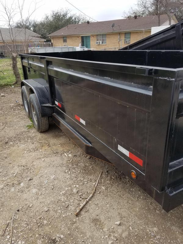 2018 7 x 16 Dump trailer Dump Trailer