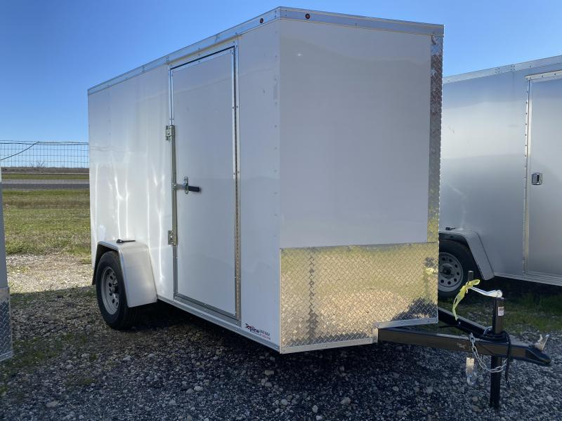 2020 Salvation Trailers 6X12SA-WHITE Enclosed Cargo Trailer