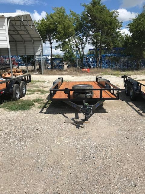 2019 Salvation Trailers 78x16TA Equipment Trailer