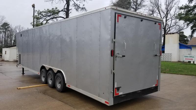 8.5X38 Enclosed Cargo GooseneckTrailer