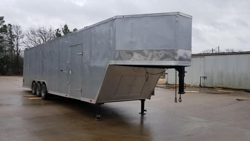 8.5X38 Enclosed Cargo GooseneckTrailer