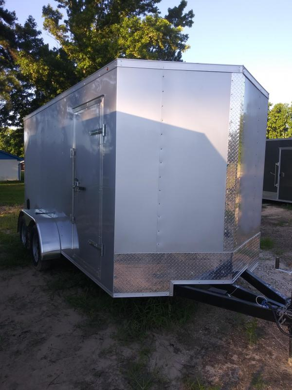 2019 7X14 ENCLOSED CARGO TRAILER