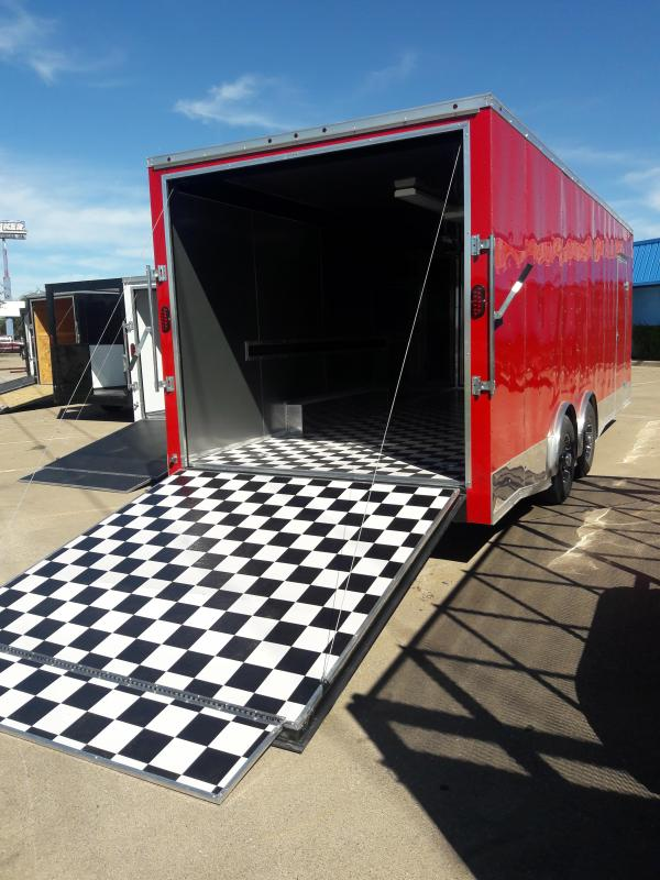 8.5x24 Race Car Trailer Enclosed Toy Hauler