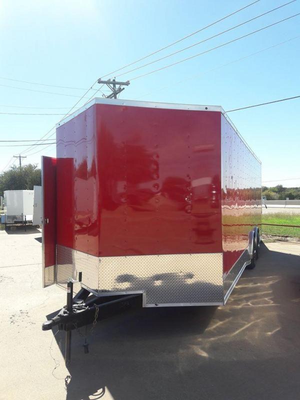 8.5x24 Race Car Trailer Enclosed Toy Hauler