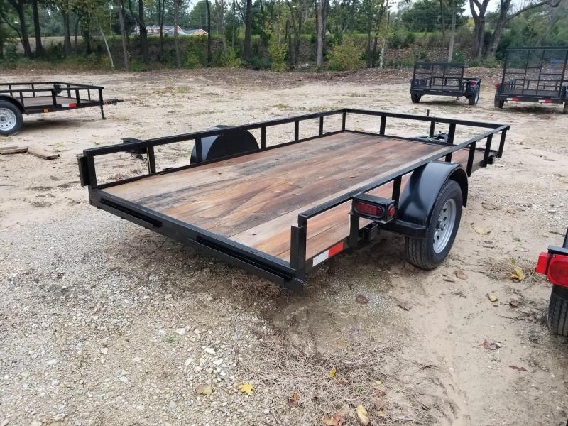 2019 Salvation Trailers 77X12 Utility Trailer
