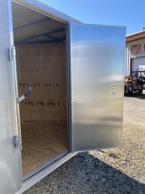 2020 Salvation Trailers 6X12SA- SILVER Enclosed Cargo Trailer